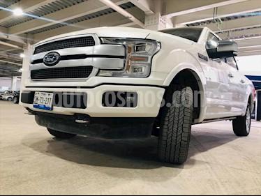 Ford Lobo Doble Cabina Platinum 4x4 usado (2019) color Blanco precio $830,000