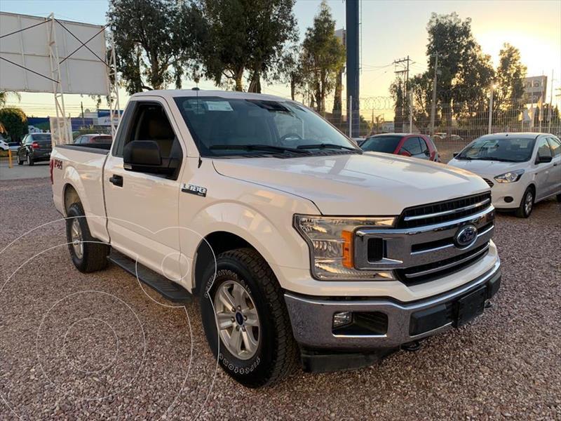 Ford Lobo Cabina Regular XLT 4x4 V8 usado (2018) color Blanco precio $559,000