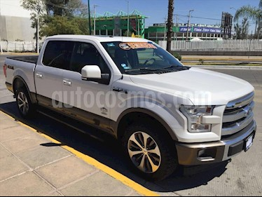 Ford Lobo Doble Cabina King Ranch usado (2017) color Blanco precio $599,000