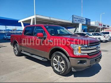 Ford Lobo Doble Cabina Lariat 4x4 usado (2019) color Rojo precio $710,000