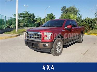 Ford Lobo LARIAT SPORT CREW CAB 4X4 CON SPRAY-IN BEDLINER usado (2017) color Rojo precio $498,000