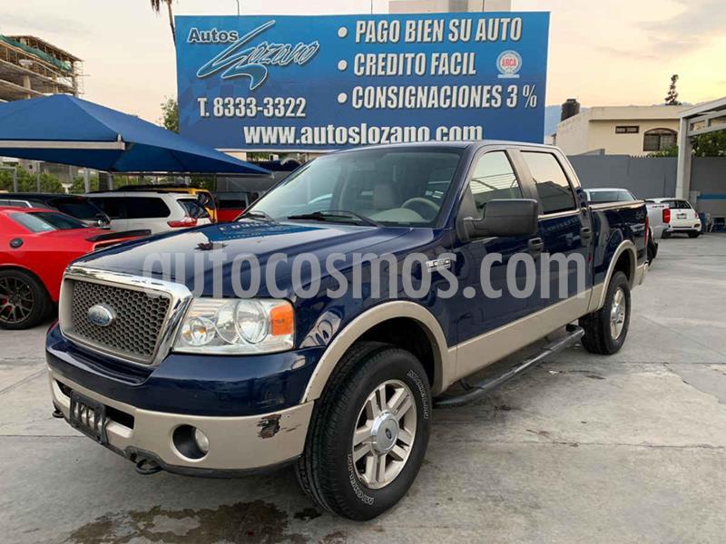 Ford Lobo Lariat Crew Cab 4x4 usado (2008) color Azul precio $179,900