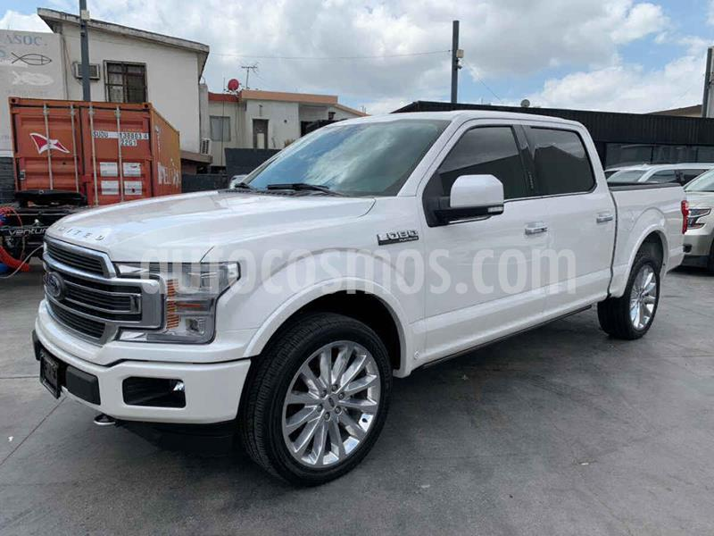 Ford Lobo Platinum 4x4 Cabina Doble usado (2019) color Blanco precio $889,800