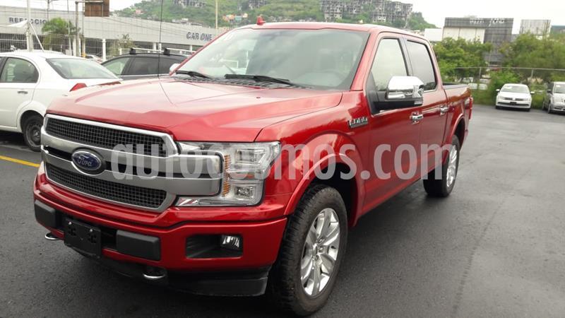 Ford Lobo Platinum 4x4 Cabina Doble usado (2020) color Rojo precio $920,000