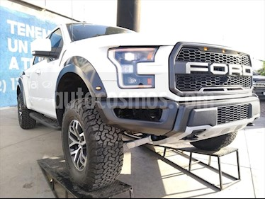 Ford Lobo Doble Cabina Platinum Limited usado (2017) color Blanco precio $950,000