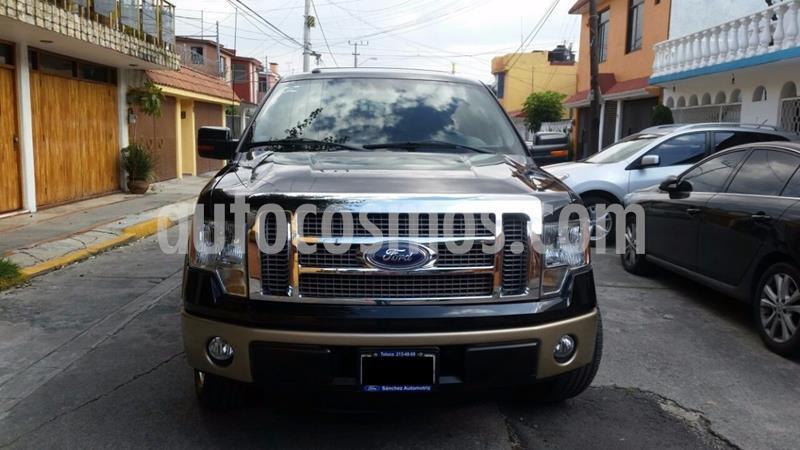 Ford Lobo XLT Crew Cab 4x2 V8 usado (2011) color Negro precio $200,000