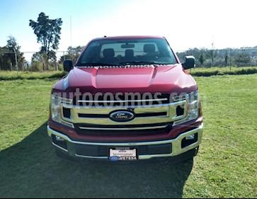 Ford Lobo Cabina Regular XLT 4x4 V8 usado (2018) color Rojo Rubi precio $469,000
