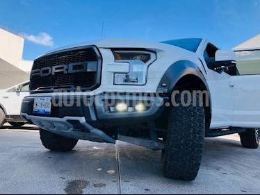 Ford Lobo Raptor SVT  usado (2018) color Blanco Oxford precio $1,060,000