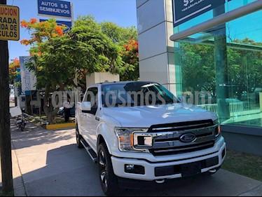 Ford Lobo Lariat Crew Cab 4x4 usado (2018) color Blanco precio $639,000