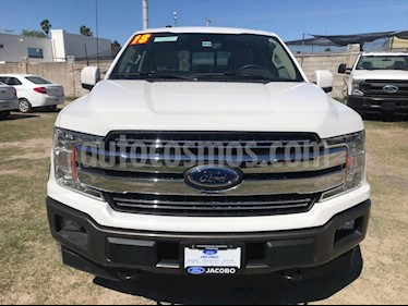 Ford Lobo Lariat Crew Cab 4x4 usado (2018) color Blanco precio $680,000