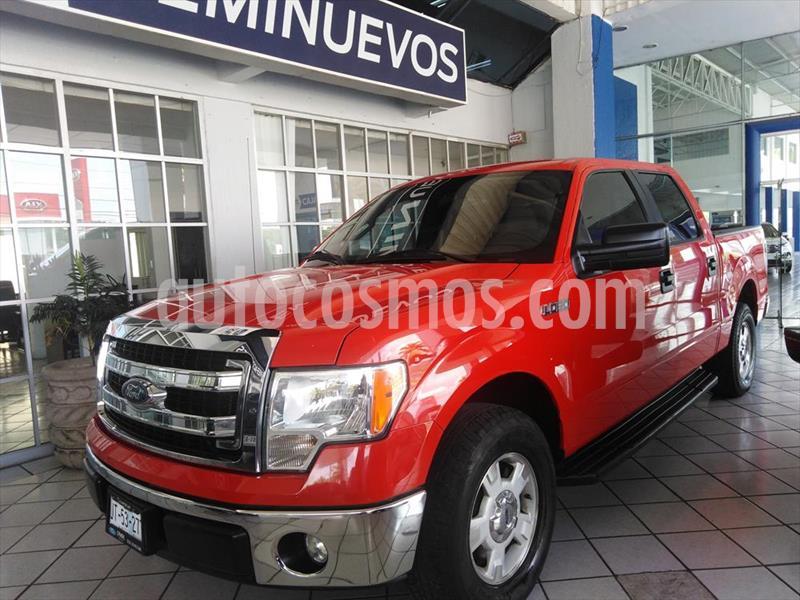 Ford Lobo XLT 4x2 Cabina Doble usado (2013) color Rojo precio $295,000