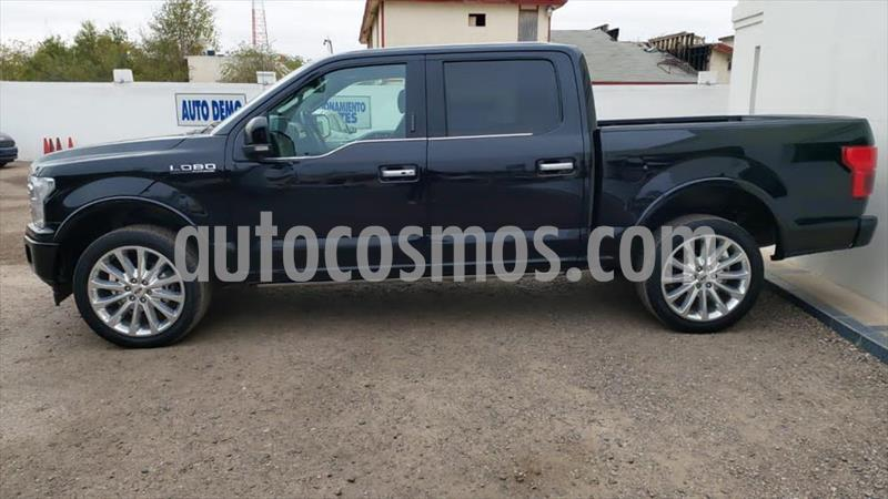 Ford Lobo Doble Cabina Platinum 4x4 usado (2018) color Negro precio $760,000