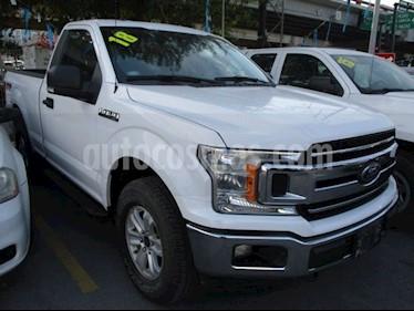 Ford Lobo Cabina Regular XLT 4x4 V8 usado (2018) color Blanco precio $508,000