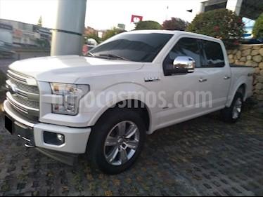 Ford Lobo Platinum Crew Cab 4x4 usado (2017) color Blanco precio $665,000