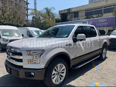 Ford Lobo 2P LARIAT DOBLE V6 3.5 AUT 4X4 usado (2015) color Blanco precio $498,000
