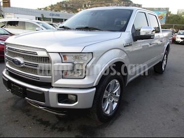 Ford Lobo Cabina Regular XLT 4x4 V8 usado (2018) color Plata precio $508,000