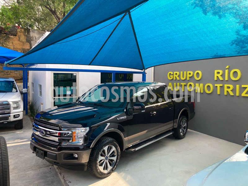Ford Lobo Lariat 4x4 Cabina Doble usado (2019) color Negro precio $745,000
