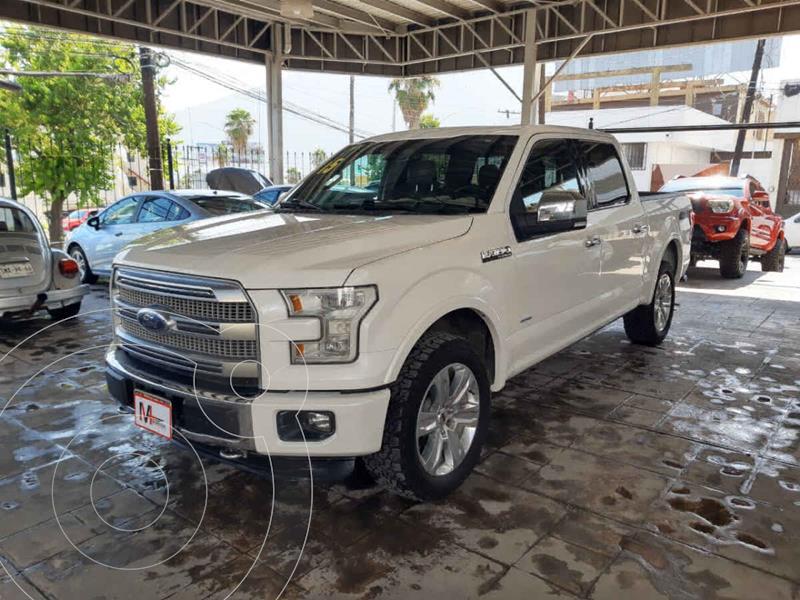 Foto Ford Lobo Platinum 4x4 Cabina Doble usado (2015) color Blanco precio $569,000