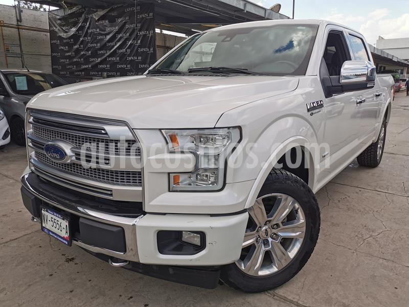 Foto Ford Lobo Platinum 4x4 Cabina Doble usado (2017) color Blanco Oxford precio $654,000