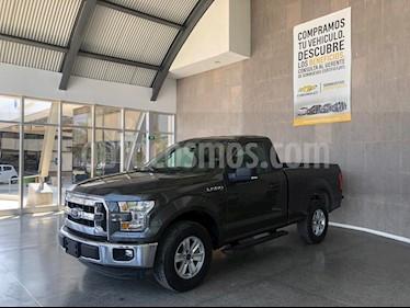 Ford Lobo Cabina Regular XLT 4x4 V8 usado (2016) color Gris precio $395,000