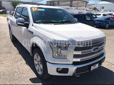 Ford Lobo Doble Cabina Platinum Limited usado (2017) color Blanco precio $650,000