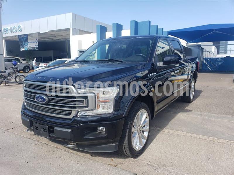 Ford Lobo Doble Cabina Platinum 4x4 usado (2019) color Negro precio $860,000