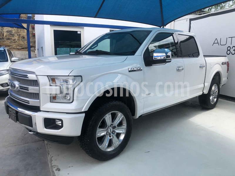 Ford Lobo Platinum 4x4 Cabina Doble usado (2016) color Blanco precio $598,000