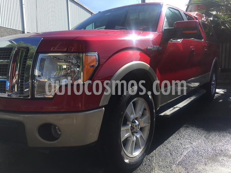 Ford Lobo Lariat Crew Cab 4x2 usado (2010) color Rojo Rubi precio $255,000