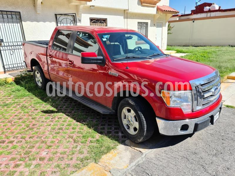 Ford Lobo XLT Crew Cab 4x2 V8 usado (2012) color Rojo Rubi precio $300,000