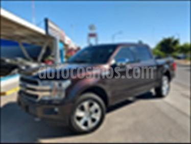 Ford Lobo Platinum Crew Cab 4x4 usado (2018) color Negro precio $740,000