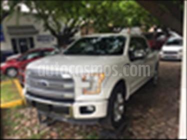 Foto venta Auto usado Ford Lobo Platinum Crew Cab 4x4 (2016) color Blanco precio $640,000
