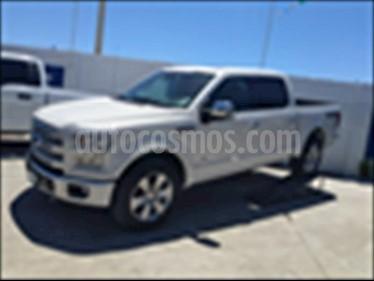 Foto venta Auto usado Ford Lobo Platinum Crew Cab 4x4 (2017) color Blanco precio $720,000