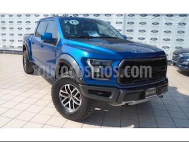 Foto venta Auto usado Ford Lobo RAPTOR Doble Cabina SVT 4x4  (2017) color Azul precio $1,080,000