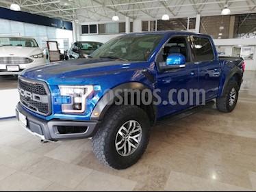 Foto venta Auto usado Ford Lobo RAPTOR Doble Cabina SVT 4x4  (2018) color Azul precio $1,109,900