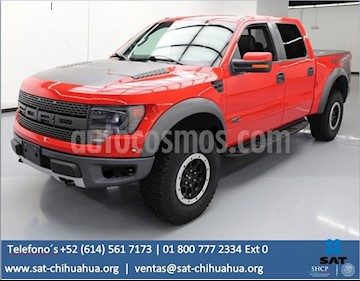 Foto venta Auto Seminuevo Ford Lobo Raptor SVT  (2014) color Rojo Racing precio $285,000