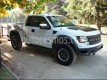 Foto venta Auto Seminuevo Ford Lobo Raptor SVT  (2014) color Blanco Oxford precio $373,200