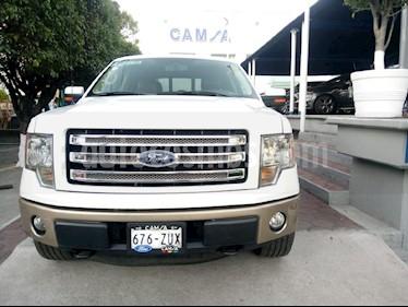 Foto venta Auto usado Ford Lobo XLT 4x4 Cabina Regular (2013) color Blanco precio $469,000