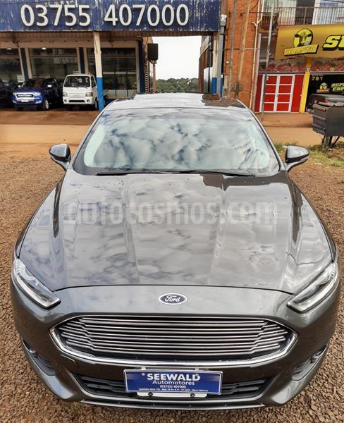 Ford Mondeo 2.0 GTDi Ecoboost Titanium AT 4Ptas. (240cv) (L11) usado (2015) color Gris precio $1.680.000