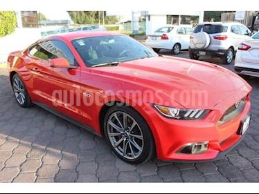 Foto venta Auto usado Ford Mustang 2 PTS. GT, TA, PIEL, CD (2015) color Rojo precio $440,000
