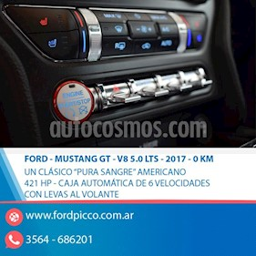 Foto venta Auto usado Ford Mustang 5.0L V8 Aut (2017) color Gris Oscuro