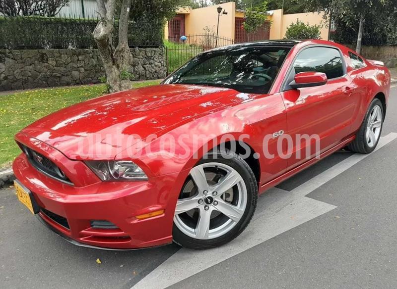 Ford Mustang GT  usado (2013) color Rojo precio $87.900.000