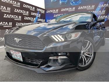 Foto venta Auto usado Ford Mustang Coupe 2.3L Aut (2016) color Negro precio $385,000