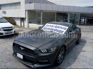 Foto Ford Mustang Coupe 2.3L Aut usado (2017) color Gris precio $409,000