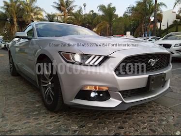 Foto venta Auto usado Ford Mustang Coupe 2.3L Aut (2017) color Plata Estelar precio $460,000