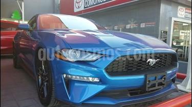 Foto venta Auto Seminuevo Ford Mustang Coupe 2.3L Aut (2019) color Azul precio $573,000