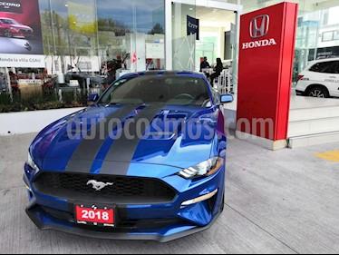 Foto venta Auto usado Ford Mustang Coupe 2.3L (2018) color Azul precio $549,900