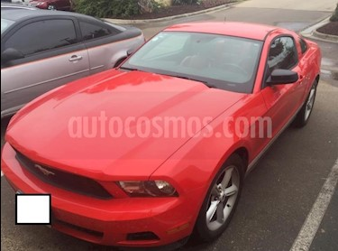 Foto venta Auto usado Ford Mustang Coupe Lujo 3.7L V6 Aut (2012) color Rojo precio $230,000