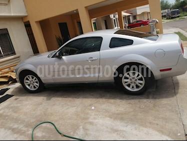 Ford Mustang Coupe V6 Aut usado (2008) color Gris Plata  precio $95,000