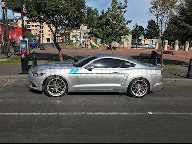 Foto venta Auto usado Ford Mustang Coupe V6 (2015) color Plata precio $400,000