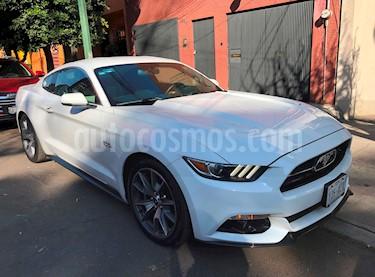 Foto venta Auto usado Ford Mustang GT Convertible 5.0L V8 Aut (2015) color Blanco precio $430,000